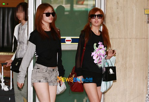 T-ara back from Japan (09/04)