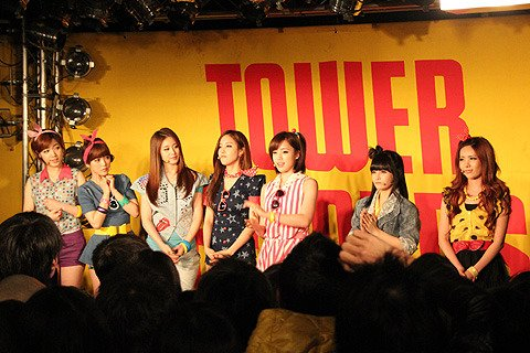 Roly-Poly at Tower Records in Shibuya (03/2012)