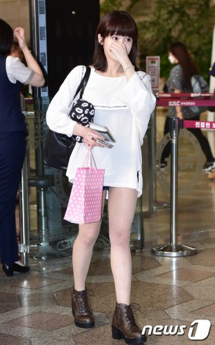 Gimpo Airport to Shanghai (09/2016)