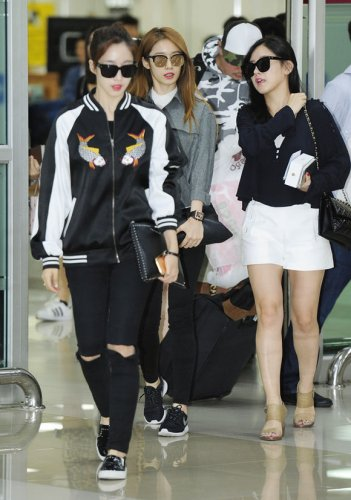 Gimpo Airport from Shanghai (09/2016)