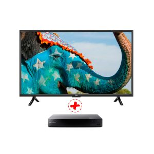 "TV TCL 32"" LED, HD, HDMI, VGA, USB L32D2900 (E02215)+BLU RAY"