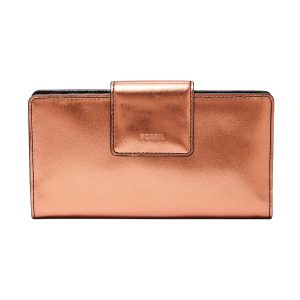 BILLETERA PARA DAMA EMMA TAB CLUTCH COPPER COD: SL7746221