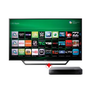 COMBO TV SONY LED 40 FHD SMART KDL-40W655D (E02014) + BLU RAY SONY FHD BDP-S3500 (E01956)