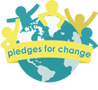 Pledges for change logo