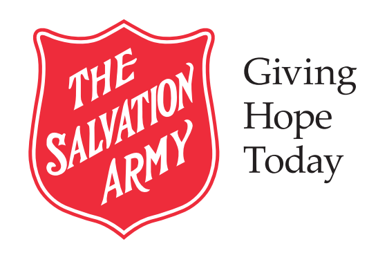 Salvation army with slogan