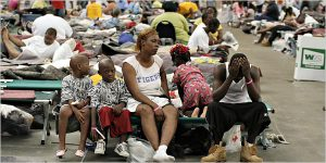 0605 - NYT - Katrina Survivors in Astrodome