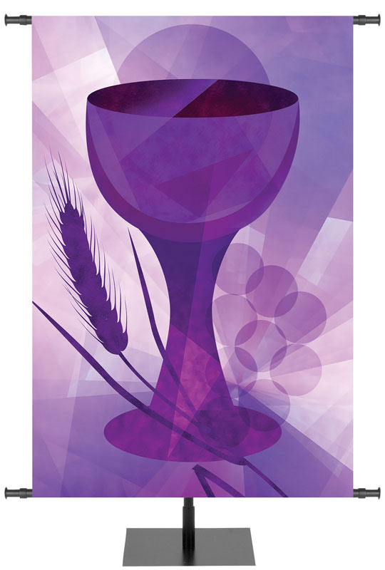 Holy Communion Banners Liturgical Communion Cup
