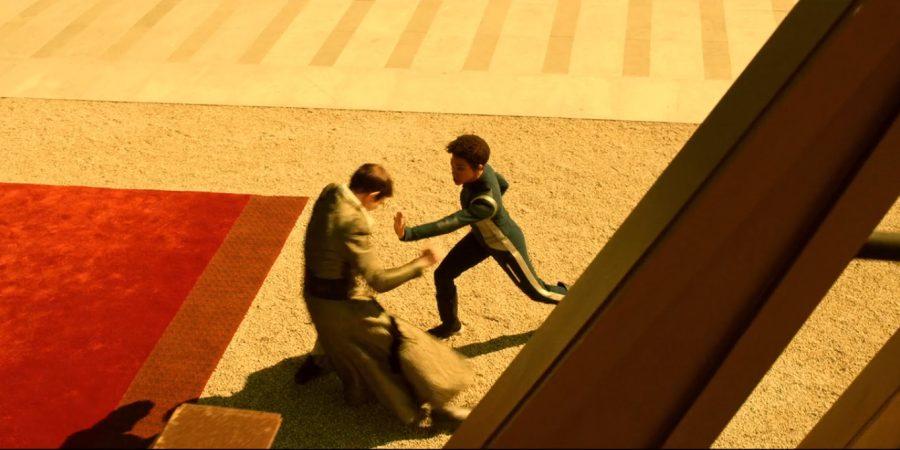 Discovery - Lethe S01E06 - Sarek e Burnham lutando