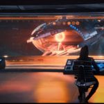 Star Trek Discovery S01E13 What's Past is Prologue - Charon vista da ponte da Discovery