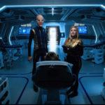 Star Trek Discovery S01E11 The Wolf Inside - Saru e Tilly na enfermaria com Stamets inconciente