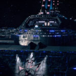 Star Trek Discovery S01E12 Vaulting Ambition - Entrada do hangar da ISS Charon