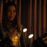 Star Trek Discovery S01E12 Vaulting Ambition - Imperatriz com o pin da capitão Georgius