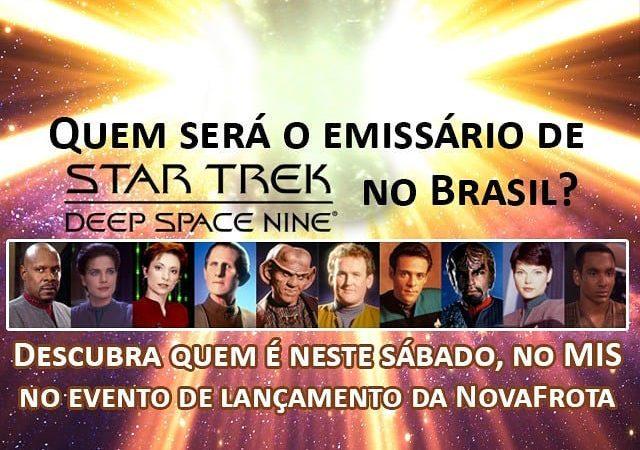 NovaFrota divulga quem será o ator a vir ao Brasil