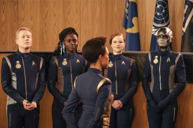 Star Trek: Discovery foi nomeada para mais um prêmio: o 2017 Peabody Award