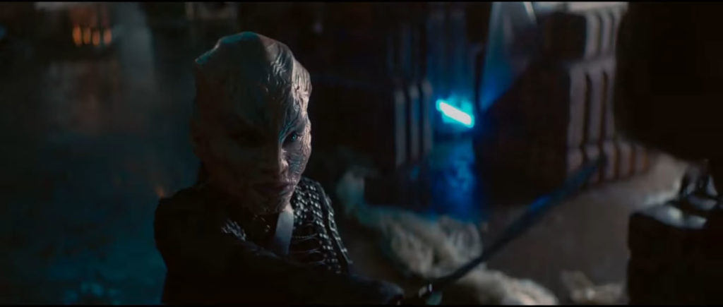 "Star Trek Short Treks ""The Escape Artist"" - Uma Klingon"