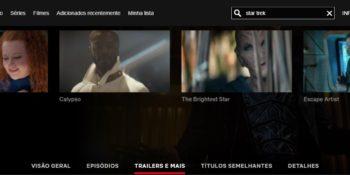 Short Trek Disponível na Netflix