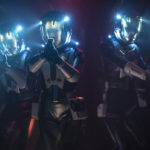Project Daedalus: Nham, Burnham e Airiam em trajes EVA