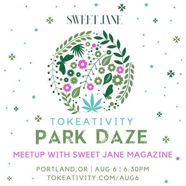 Tokeativity Portland - Park Daze Meet Up with Sweet Jane Magazine