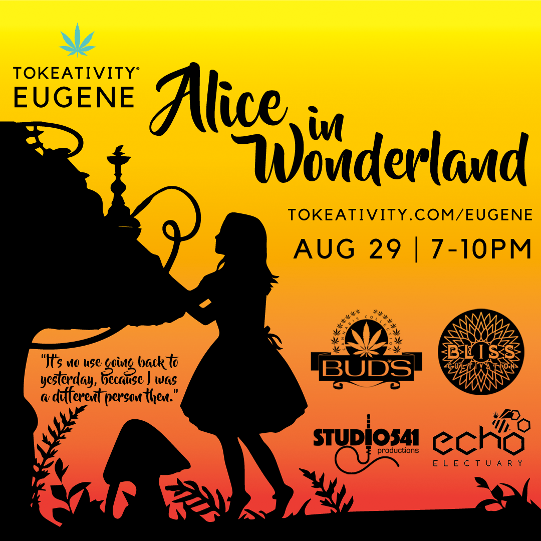Eugene Tokeativity Social: Alice in Wonderland