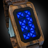 Adjust Wood Led Watches