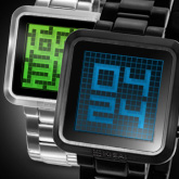 Maze Lcd Watches