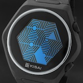 Quasar Silicone Lcd Watches