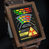 Radioactive Wood Led Watches