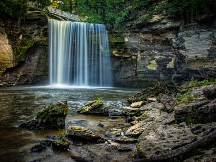 Minneopa waterfall