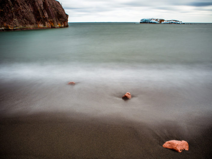 Dreamy rocks on Black Beach