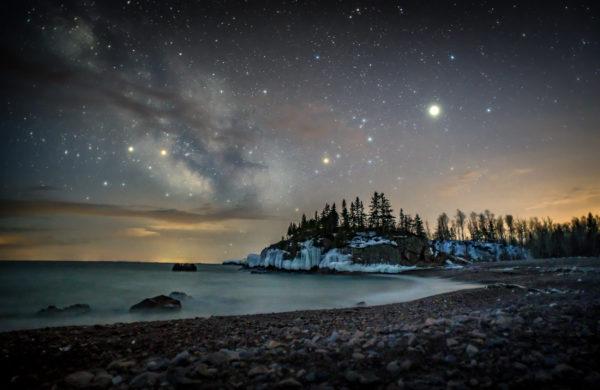 Milky Way in Silver Bay