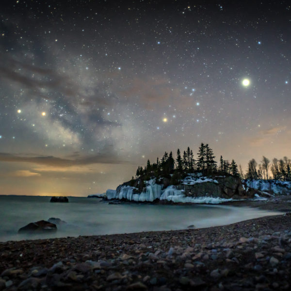Milky Way in Silver Bay