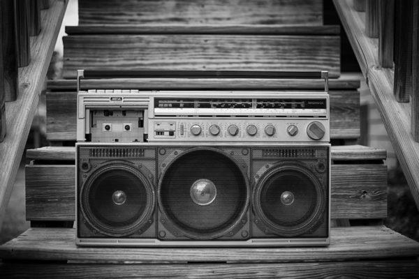 80s boombox