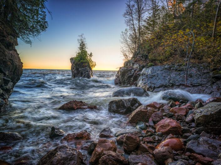 The Bay, Tettegouche State Park, Minnesota