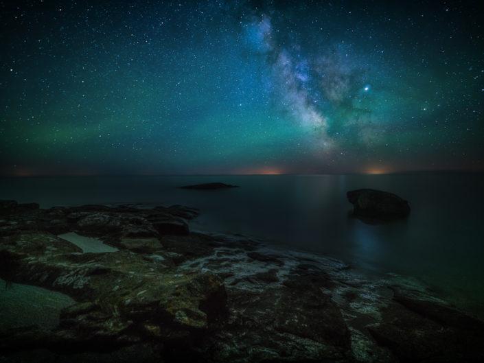 Milky Way in Cascade State Park, Minnesota