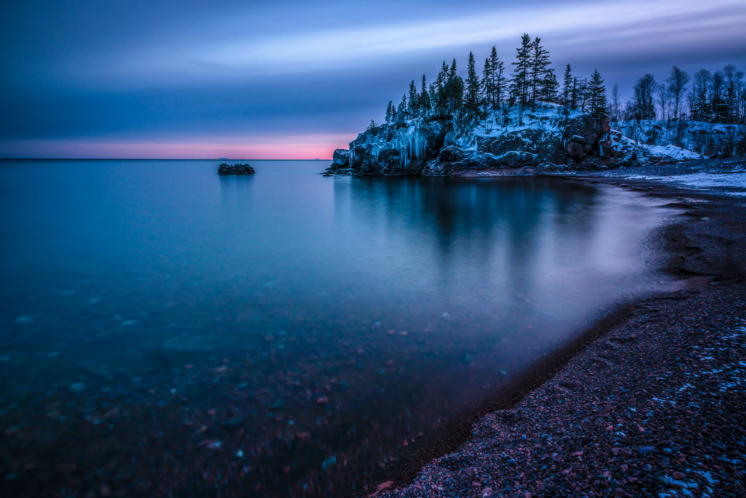 Silver Bay Blue Hour