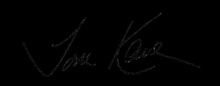 Tom Kane signature