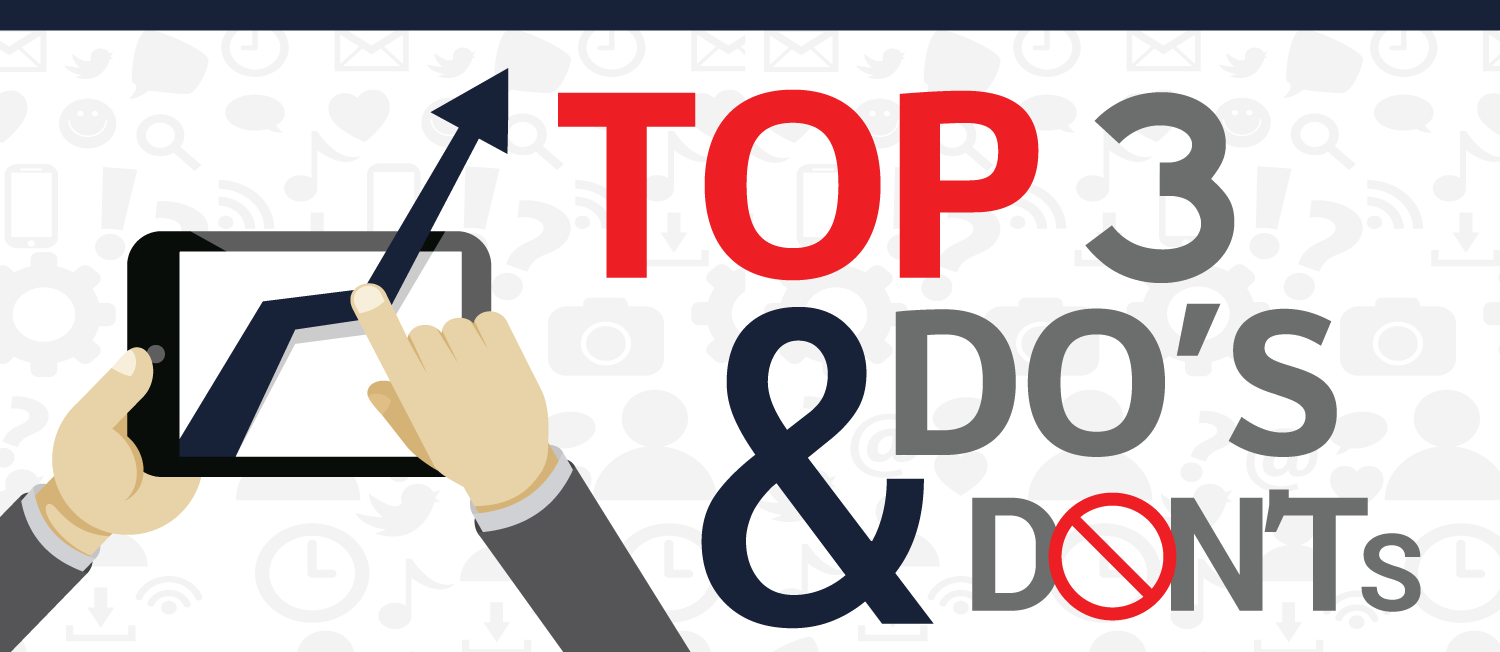[Infographic] Social Media Marketing Dos and Don'ts