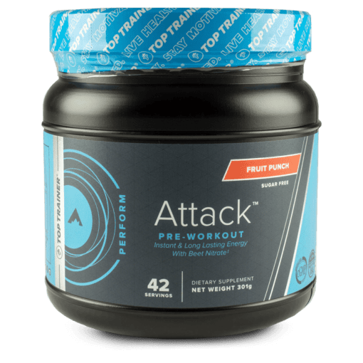 Attack pre-workout supplement by TopTrainer
