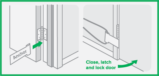 Door Anchor Diagram