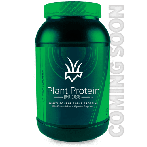 Plant Protein Plus Multi-Sourced Plant Protein with essential Greens and enzymes by TopTrainer