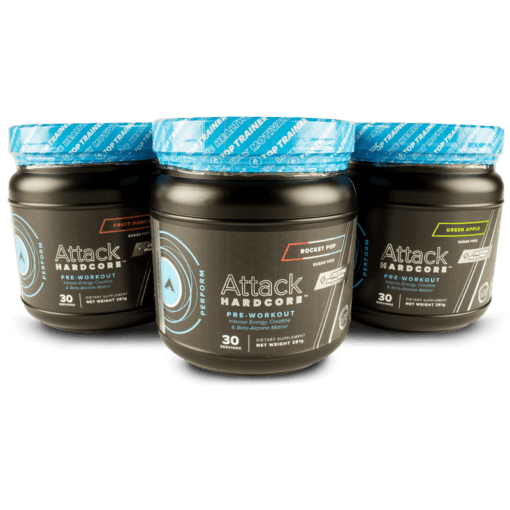 Attack Hardcore Pre-Workout with Beta-Alanine