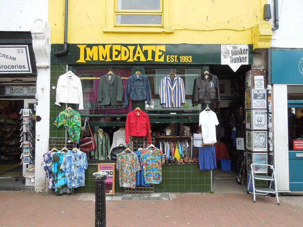 Le TOP Label della moda del momento, comprale vintage! Non puoi perderti i negozi più cool di Brighton.