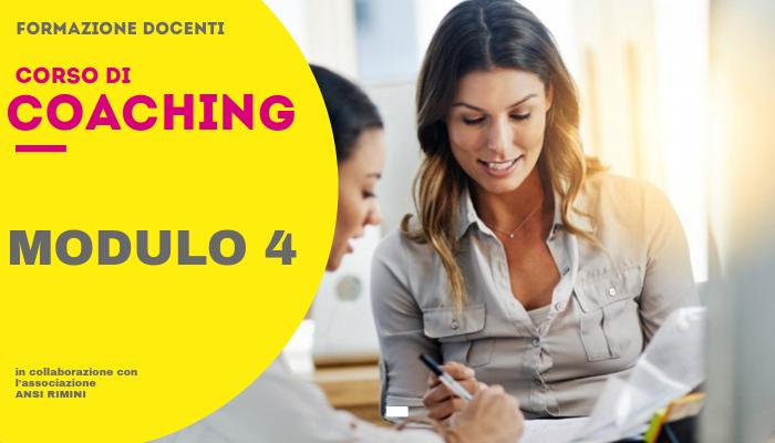 Coaching Docenti – Modulo 4