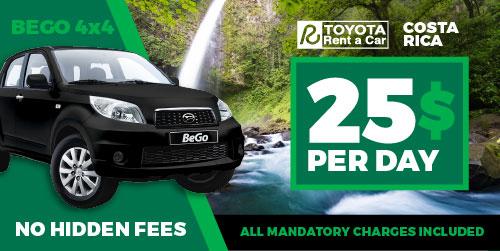 Toyota Car Rental Costa Rica Find The Best Car Rental Deals