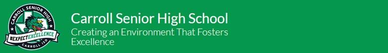 Carroll High/Sr. High School banner