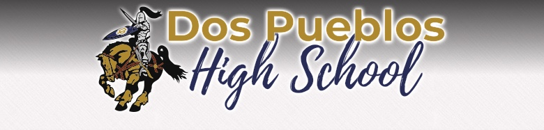 Dos Pueblos High School banner