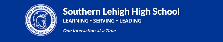 Southern Lehigh High School banner