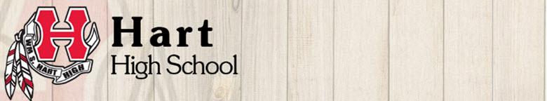 Hart High School banner