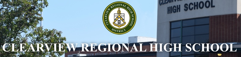 Clearview Regional High School banner