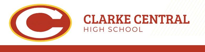Clarke Central High School banner
